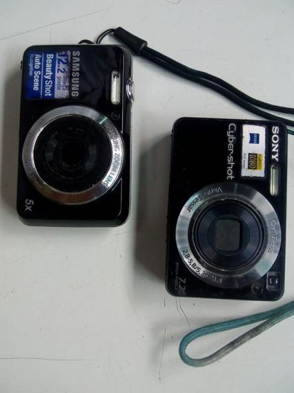 Câmera Sony Cyber-shot Dsc-w110 7.2 Megapixels + Brinde