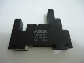 Base Rele Prt7-2 Metaltex