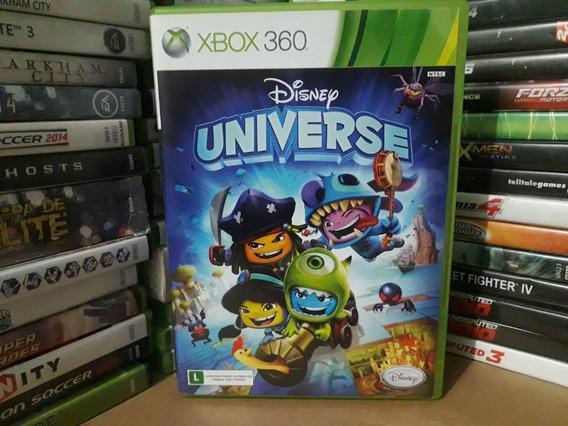 Jogo Disney Universe Xbox 360 Original Mídia Física Crianças