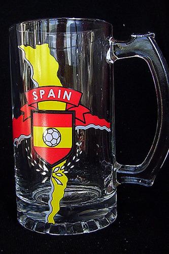 Jarro Shopero Cervecero Coleccion España Mundial De Futbol