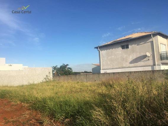 Terreno À Venda, 300 M² Por R$ 130.000,00 - Residencial Do Bosque - Mogi Mirim/sp - Te0225