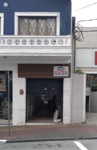 Locação Salão-brooklin Paulista,são Paulo/sp - Rr4559