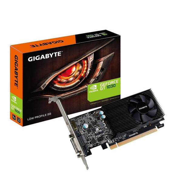 Placa De Vídeo Gigabyte Geforce Gt1030 2gb Ddr5 64bits Low