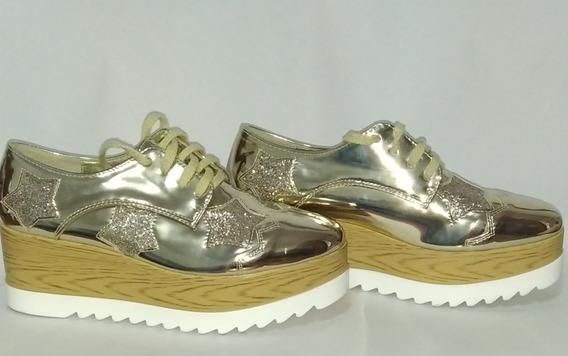 Zapatos Glister Originales Oxford De Dama Americano Talla 39