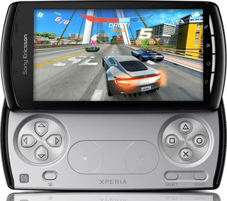 Smartphone Sony Playstation Xperia Play 64gb Novo 148 Jogos
