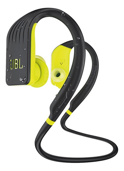 Fone De Ouvido Jbl Endurance Jump Bluetooth Preto / Verde