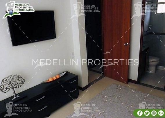 Arrendamientos De Apartamentos Baratos En Medellín Cód: 4275