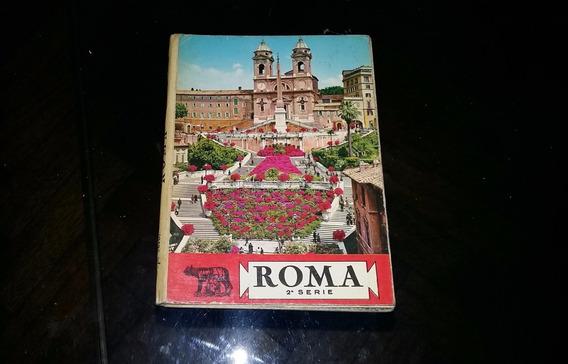 17 Fotopostales De Roma - Oto Souvenirs 1977 - Colección