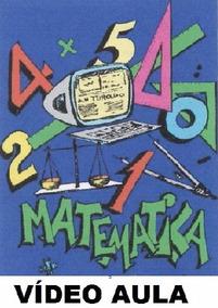 Curso De Matemática! Aulas Em 3 Dvds! M7