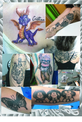 Tatuajes Tatuador Tattoo Black And Gray Y Color Sombras