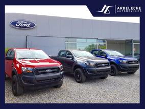 Ford Ranger Xl 2.5n 2018 4x2 Permuto Financio! Arbeleche