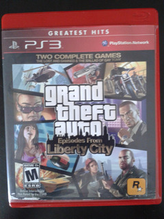 Grand Theft Auto Episodes From Liberty City