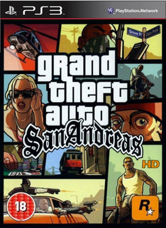 Grand Theft Auto Gta San Andreas Hd Remaster - Playstation 3