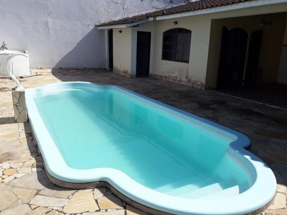 Casa Residencia, 100 M. Do Mar, Com Piscina, Ref. 5695 L C