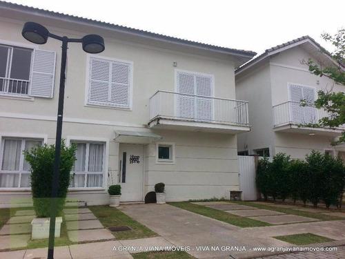 Casa À Venda, 184 M² Por R$ 670.000,00 - Granja Viana - Cotia/sp - Ca1225