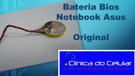 Pilha Bateria Bios Notebook Asus X401u Cr2032 Original