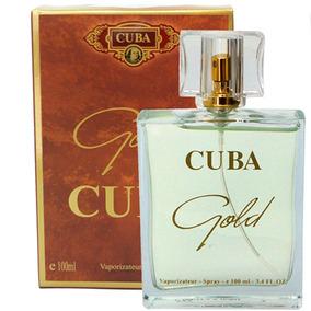 Perfume Cuba Masculino Gold Edp 100 Ml Original