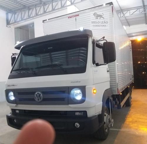 Vw 10-160 Delivery - 17/17- Baú De Alumínio, Ar Condicionado