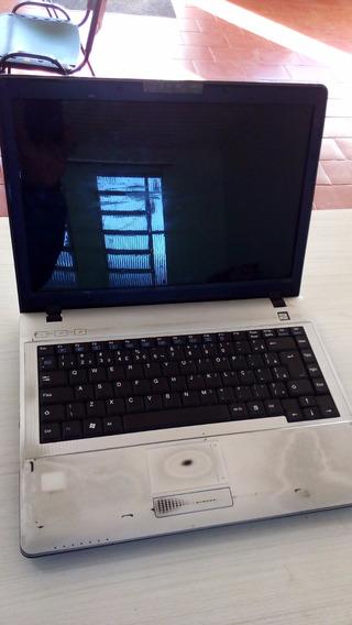 Notebook Positivo Sim 1a032rl3f Não Liga! Sem Hd E Tela.