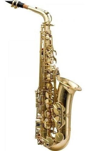 Sax Alto Harmonics Has-200l Novo Completo