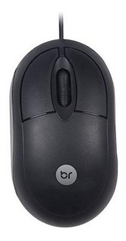Mouse Standard Preto Usb 800 Dpi Bright - Novo Original !!