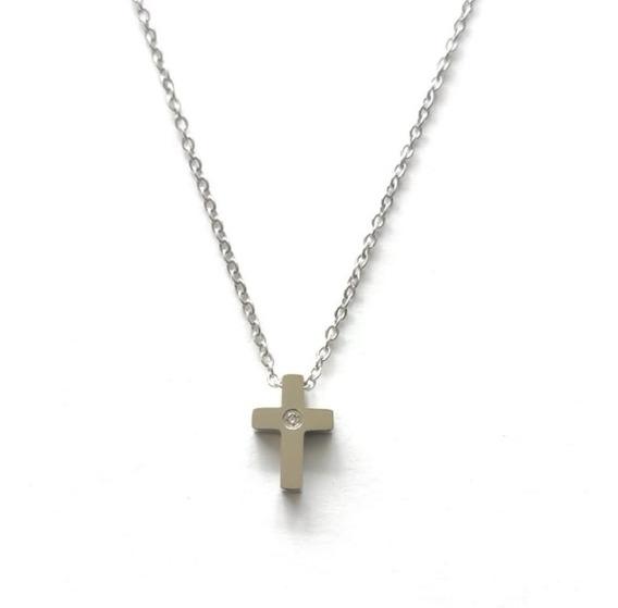 Collar Cruz Religioso | Marca Mexicana