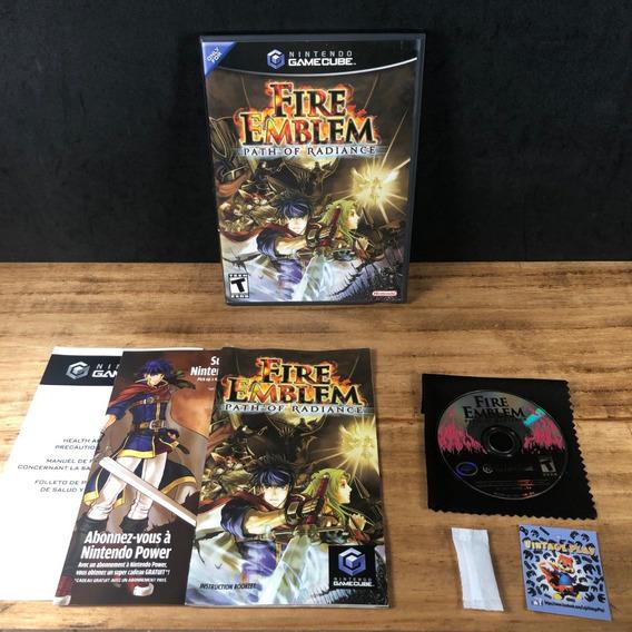Fire Emblem Path Of Radiance 100% Original Cib P/ Gamecube!!