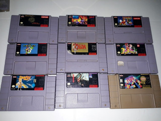 Juegos De Super Nintendo Mario Star Fox Zelda