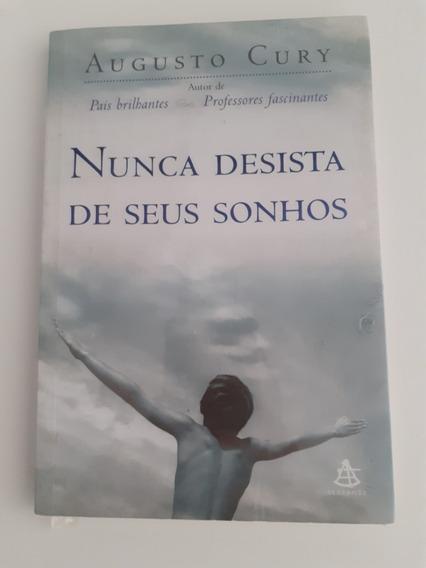 Livro - Nunca Desista De Seus Sonhos - Augusto Cury Seminovo