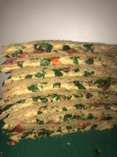 Sandwich De Miga Veganos
