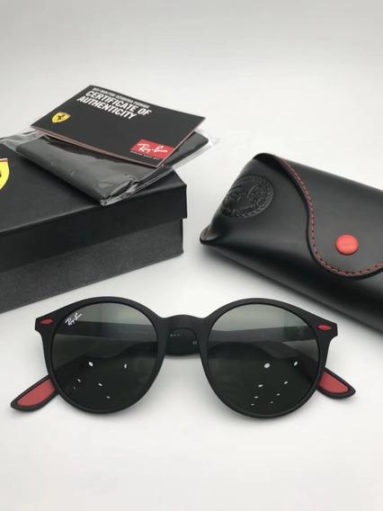 Oculos De Sol Masculino Scuderia Ferrari Round Rb4297 Oferta