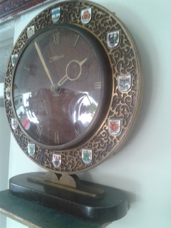 Reloj De Chimenea O Escritorio Mauthe Alemán Funcional 8 Día