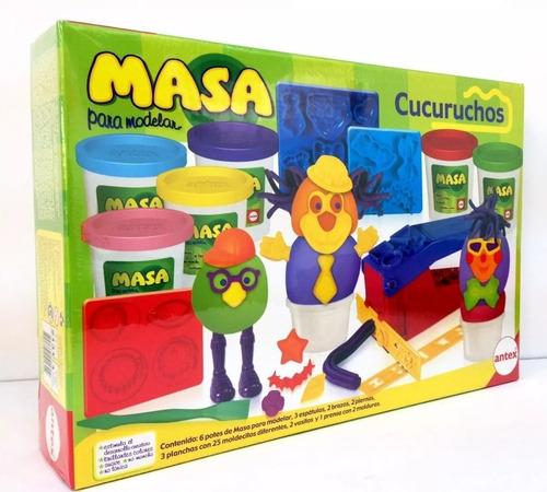 Imagen 1 de 4 de Masa Para Modelar Cucuruchos Marca Antex 2131