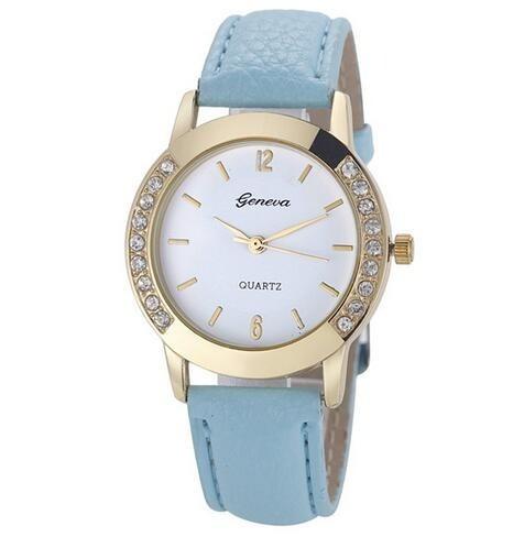 Relógio Luxo Moda Feminino Com Strass Barato