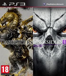 Darksiders + Darksiders 2 Ultimate Edition Ps3 Digital Gcp