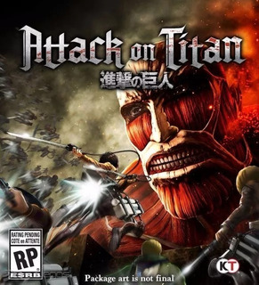 Attack On Titan Ps3 Original Entrega Inmediata