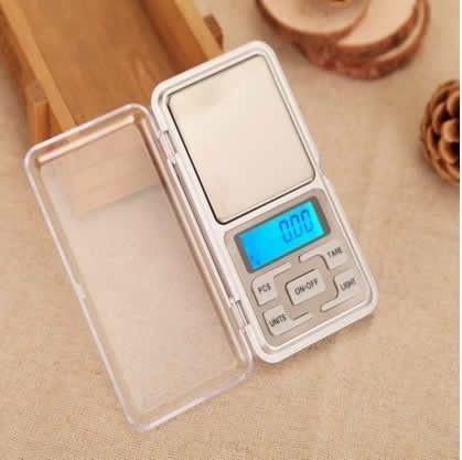 Mini Balança Digital Alta Precisão 1 Grama A 500gr