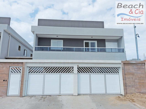 Sobrado Novo, 2 Dorms, Tupi, Praia Grande, R$ 245 Mil, Sb00026 - Vsb00026