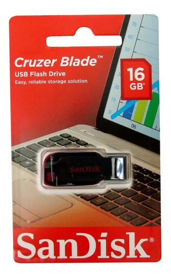 Kit 20 Pen Drive 16gb Sandisk Original Lacrado