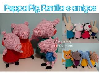 Amigurumis San Vicente: Familia Pig amigurumi | 245x320