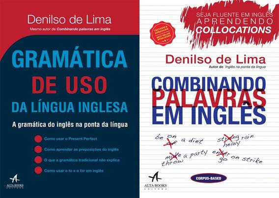 Livros Gramática E Combinando Palavras Da Língua Inglesa