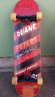 Skate Autografado Por Duane Peters. Item De Colecionador!!