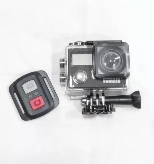 Câmera Ação 4k Wifi Mt1092+cartão 32gb+ Brinde Bateria Extra
