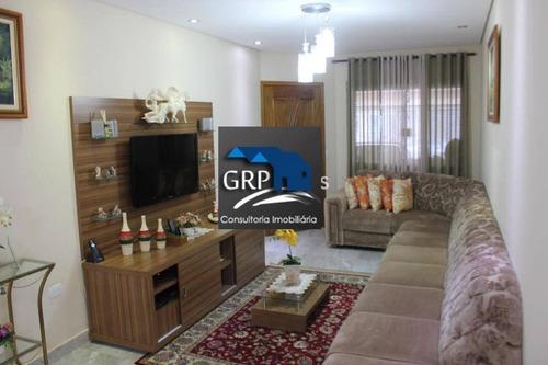 Casa Para Venda Em São Caetano Do Sul, Olímpico, 3 Dormitórios, 1 Suíte, 3 Banheiros, 2 Vagas - _1-1446179