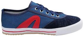Tenis Rainha Voley Azul Marinho/vermelho/preto