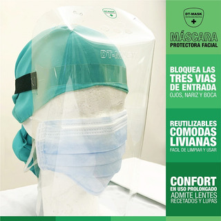Mascara Protectora Facial Reutilizable X 25un.