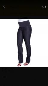Calça Jeans Gestante Yasmin