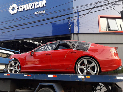 Sucata Audi A5 Bancos Rodas Portas Para-choque Câmbio Tampa
