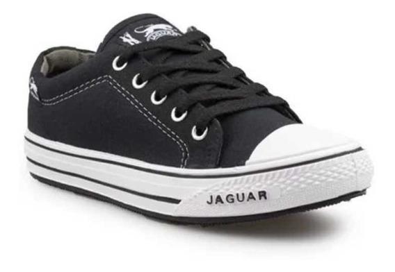 Zapatillas Jaguar De Lona Con Puntera Art.320