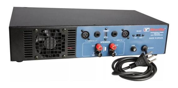 Amplificador Potência New Vox Pa-1200 1200w Profissional Op